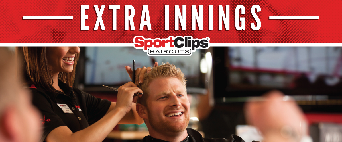 The Sport Clips Haircuts of Royse City Extra Innings Offerings